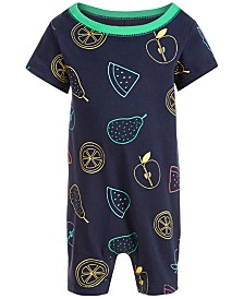 First Impressions Baby Boys Fruit Sunsuit, Created for Macy's