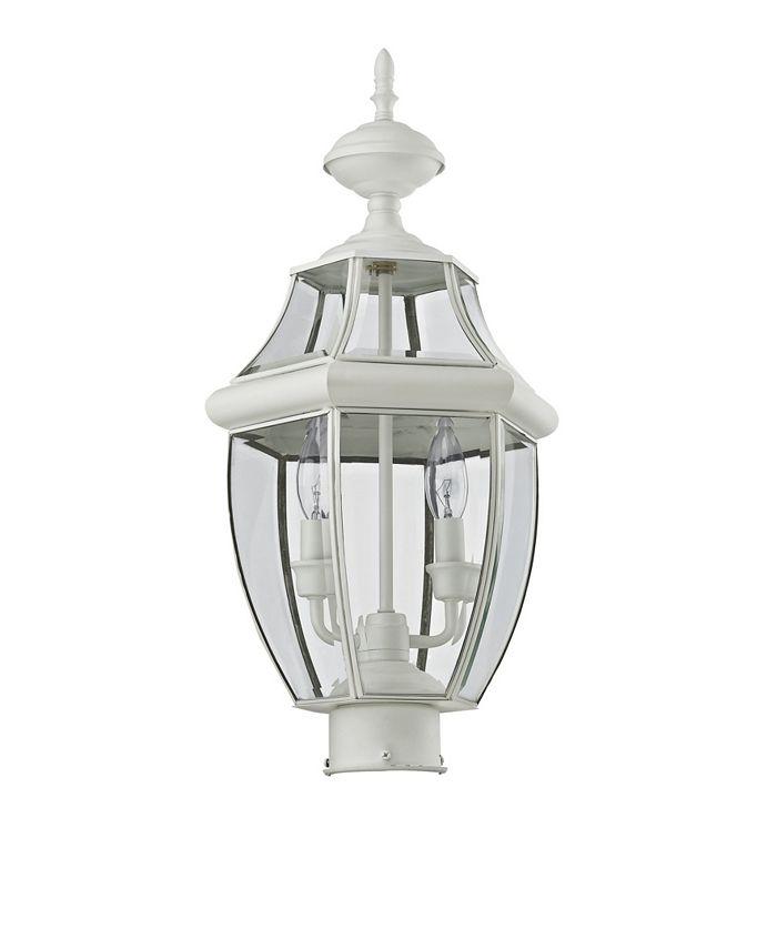 Livex - Monterey 2-Light Outdoor Post Lantern