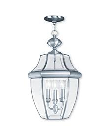 Monterey 3-Light Outdoor Chain Lantern