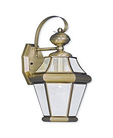 CLOSEOUT!   Georgetown 1-Light Outdoor Wall Lantern