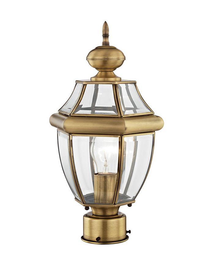 Livex - Monterey 1-Light Outdoor Post Lantern