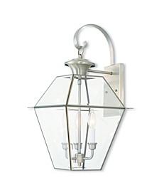 Westover 3-Light Outdoor Wall Lantern