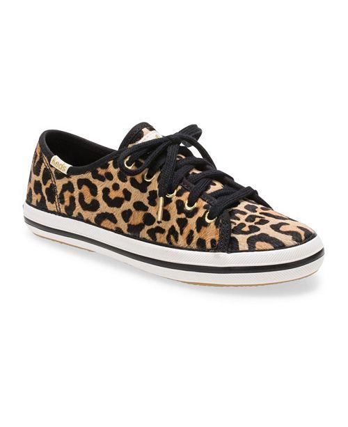 Keds Toddler, Little & Big Girls Keds x Kate Spade Kickstart Seasonal Sneaker in Leopard