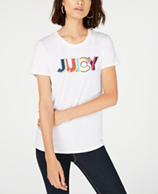 Juicy Couture Graphic Cotton T-Shirt