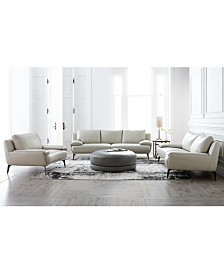 Surat Leather Sofa Collection, Created for Macy's