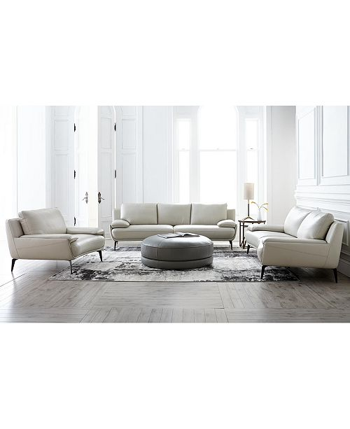 Amazing Surat Leather Sofa Collection Created For Macys Onthecornerstone Fun Painted Chair Ideas Images Onthecornerstoneorg