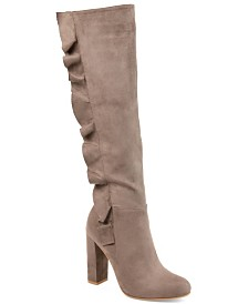 Journee Collection Women's Extra Wide Calf Vivian Boot