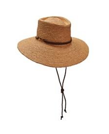 Scala Braided Raffia Aussie Boater Hat