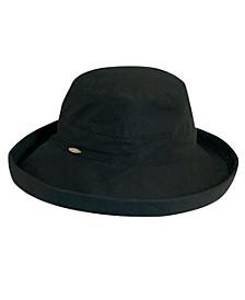 Medium Brim Cotton Bucket Hat