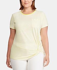 Plus Size Pocket T-Shirt