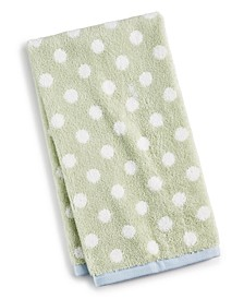 Cotton Dot Spa Fashion Hand Towel, Created for Macy's
