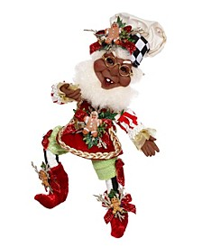African-American Cookie Maker Elf, Small - 11 Inches