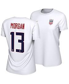 Nike Women's Alex Morgan USA National Team Name and Number T-Shirt