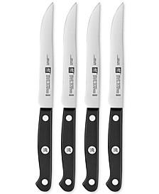 Zwilling Gourmet 4-Pc. Steak Knife Set