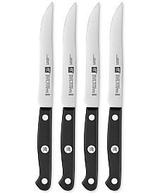 Zwilling J.A. Henckels Gourmet 4-Pc. Steak Knife Set