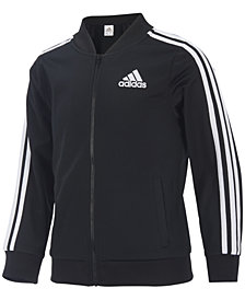 adidas Big Girls Tricot Jacket