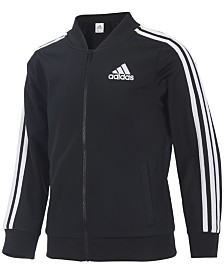 adidas Big Girls Tricot Jacket