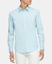 cf153d3749 Calvin Klein Men's Slim-Fit Stretch Solid Shirt