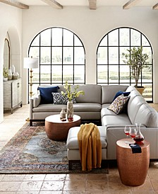 Virton Leather Sofa Collection, Created for Macy's