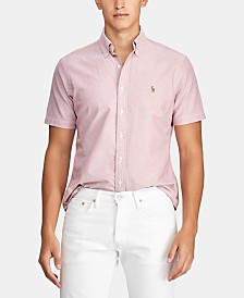 Polo Ralph Lauren Men's Big & Tall Classic Fit Oxford Cotton Shirt