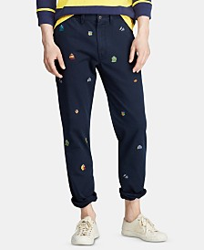 Polo Ralph Lauren Men's Classic Fit Rugby Cotton Chino Pants
