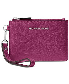 MICHAEL Michael Kors Mercer Pebble Leather Coin Purse