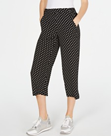 Michael Michael Kors Printed Cropped Pants