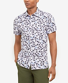 Men's Breezy Palm Print Shirt