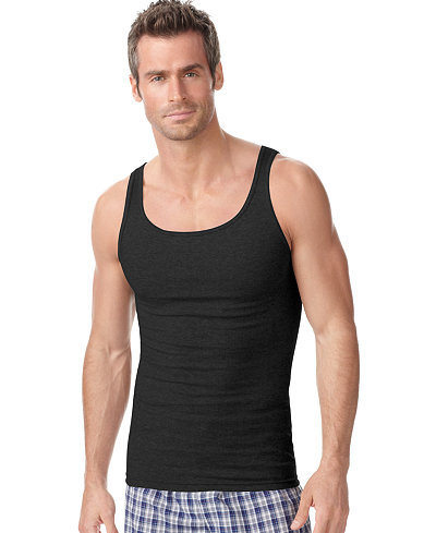 Alfani Men's Underwear, Big & Tall 3 Pack Tagless Tank Tops