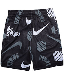 Nike Little Boys Printed Dri-FIT Mesh Shorts