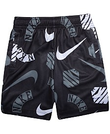 Nike Toddler Boys Printed Dri-FIT Mesh Shorts