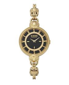 Versus Versace Women's Les Dock's Gold Metal Bracelet 32MM Watch