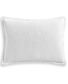 Hotel Collection Classic White Matelassé King Sham, Created for Macy's