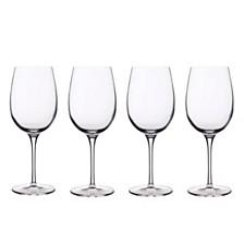 Luigi Bormioli Glassware, Set of 4 Crescendo Bordeaux Glasses