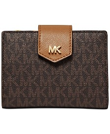 MICHAEL Michael Kors Signature Snap Billfold Wallet