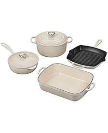 6-Pc. Cast Iron Cookware Set