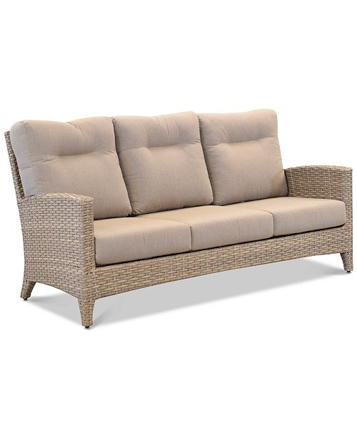 Grand Stafford Outdoor Sofa with Sunbrella® Cushions