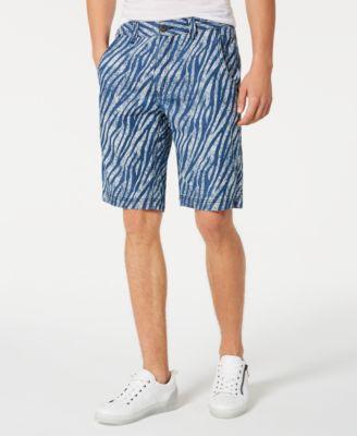 INC Men's Zebra Print Shorts, Created for Macy's