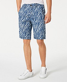 INC Men's Zebra Print Shorts, Created for Macy's