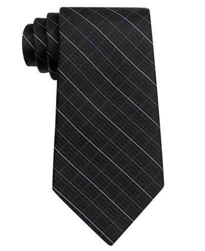 Calvin Klein Etched Grid Tie, Big Boys