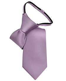 Calvin Klein Little Boys' Vellum Satin Zipper Tie