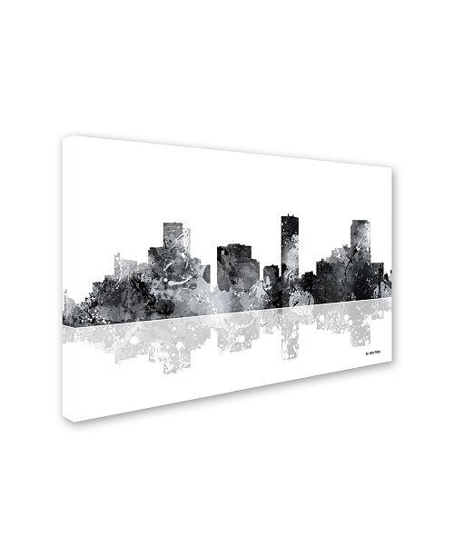 Macys Furniture Outlet Denver: Trademark Global Marlene Watson 'Denver Colorado Skyline