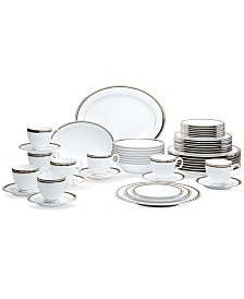 Noritake Austin Platinum 50-Pc. Service for 8