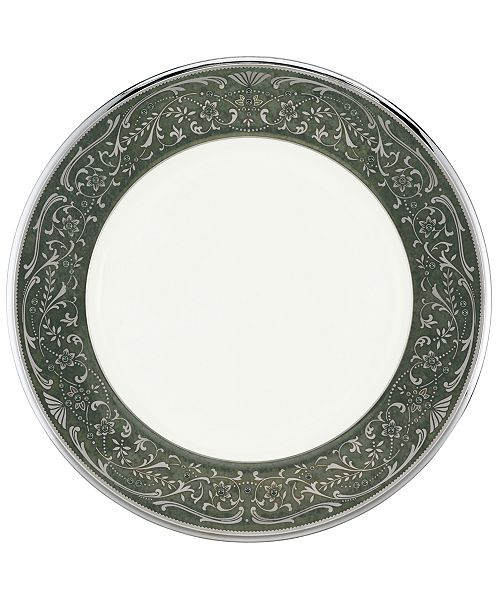 Noritake Dinnerware, Silver Palace Accent Plate