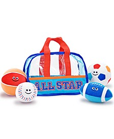 Kids Toys, Sports Bag Fill and Spill
