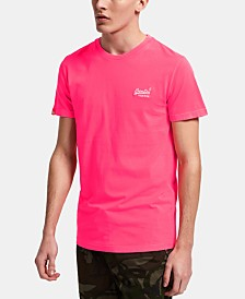 Superdry Men's Orange Label Neon Logo T-Shirt