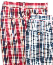 Lauren Ralph Lauren Men's Classic-Fit Plaid Madras Dress Pants