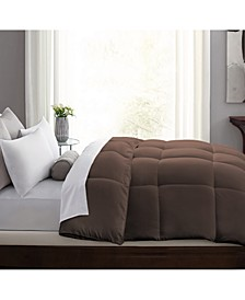 Hybrid-Blend Quill-Less Feather and Down Comforter, King