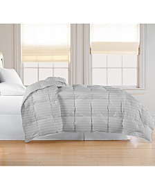Blue Ridge Oversized White Goose Feather/Down Comforter, King
