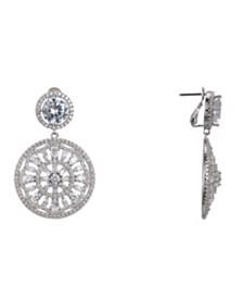 Nina Medallion Clip Earrings